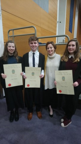 Former CNI Dlta Received Entrance Scholarships at UCD 640x480