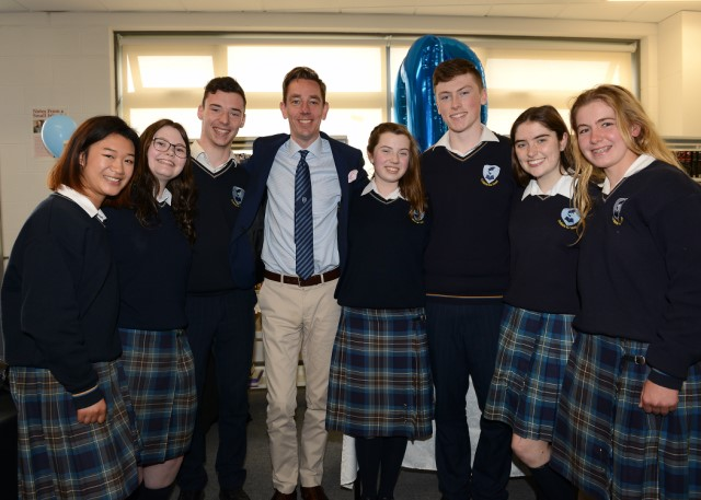 Ryan Tubridy Became a Dlta in Coliste na hInse 640x480