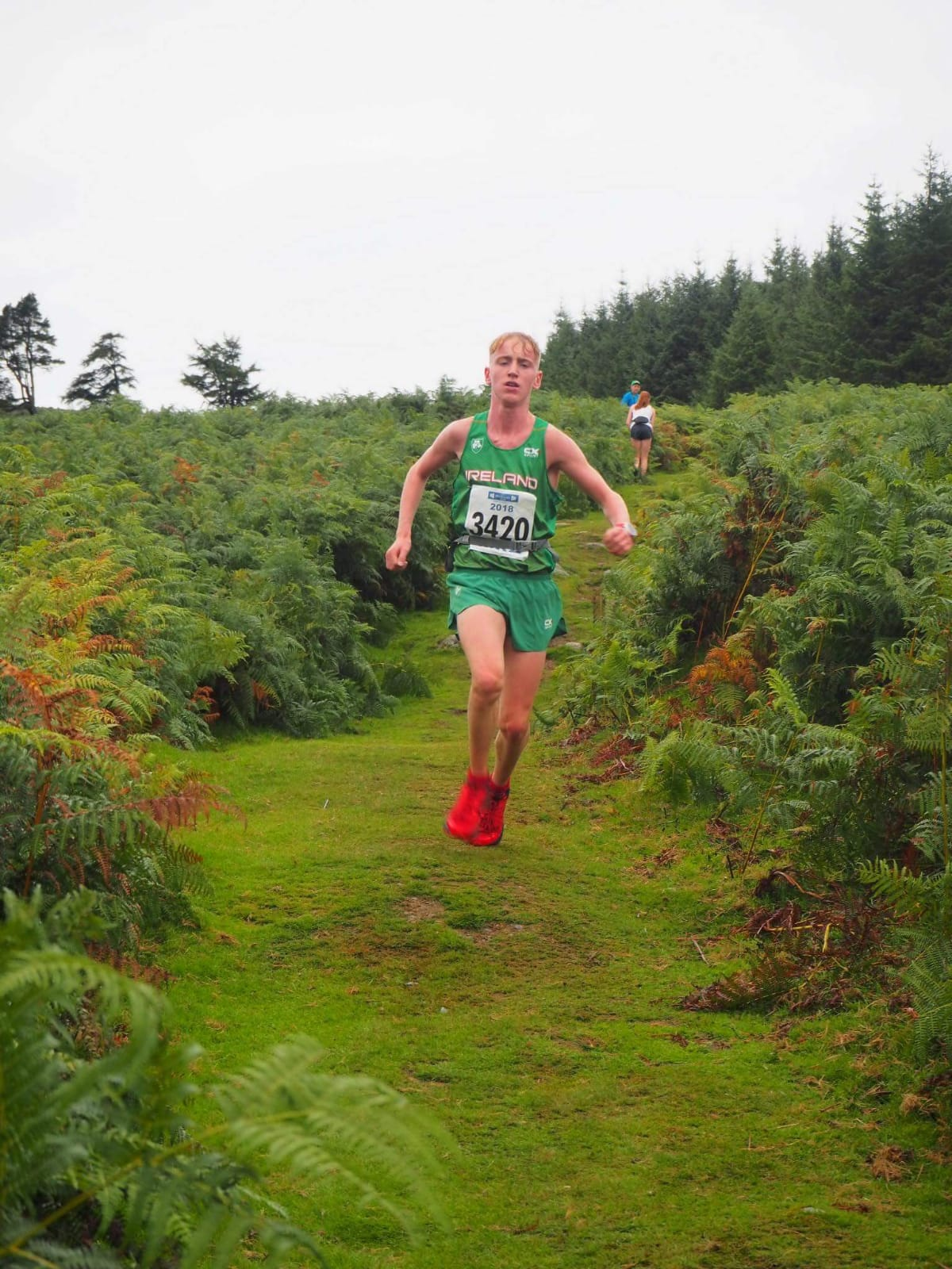 Aaron Smith Representing Ireland in Glendalough