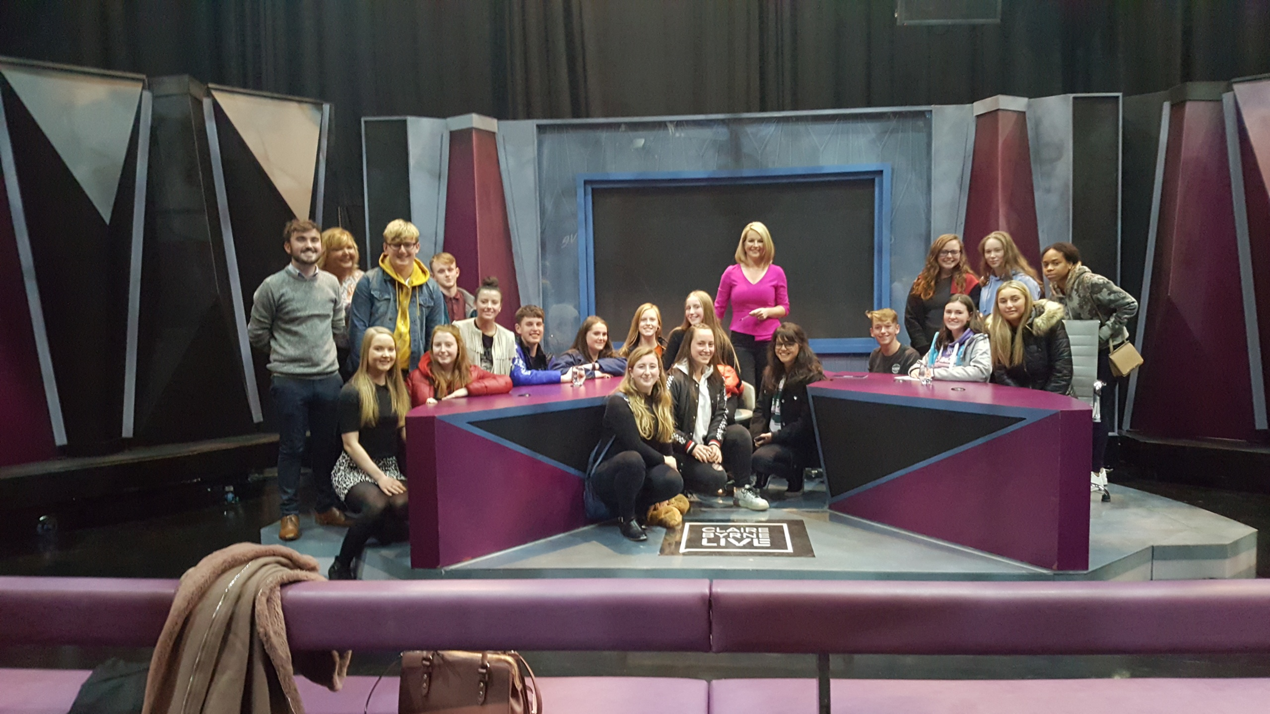 CNI Dlta with Claire Byrne at RT Studios