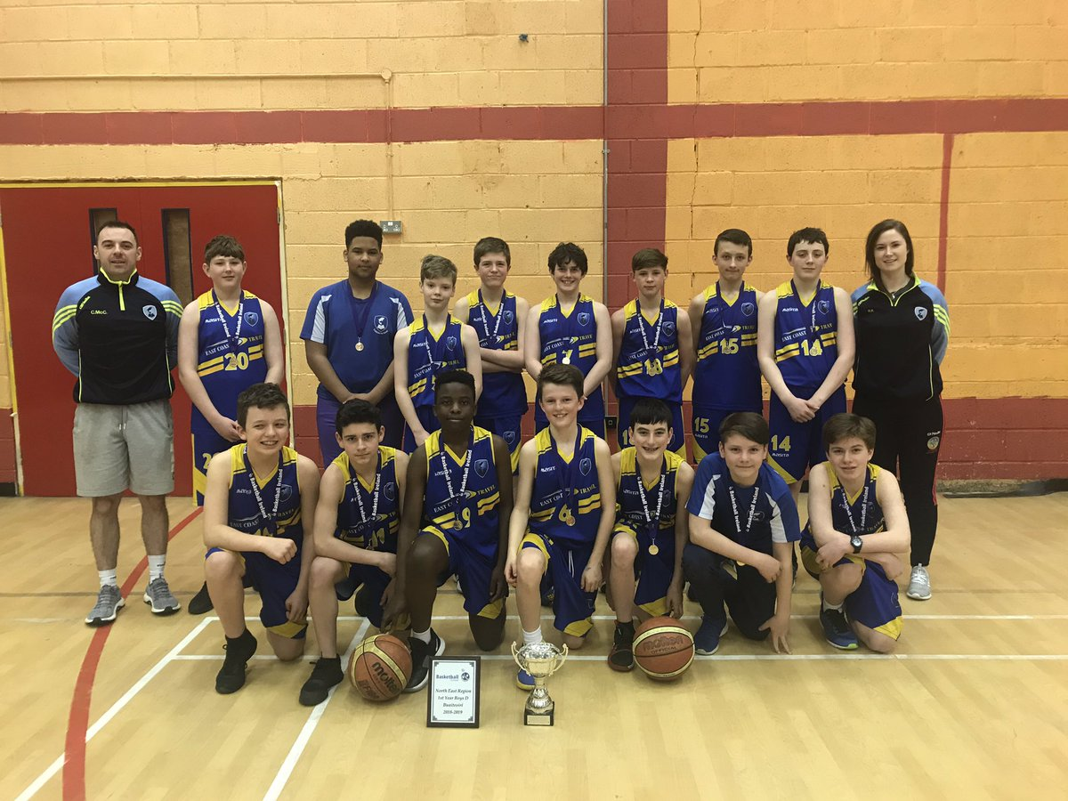 First Year Basketball Champions