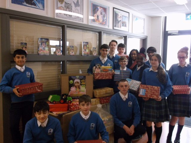 Rang Cunningham Worked on the Shoebox Appeal 640x480